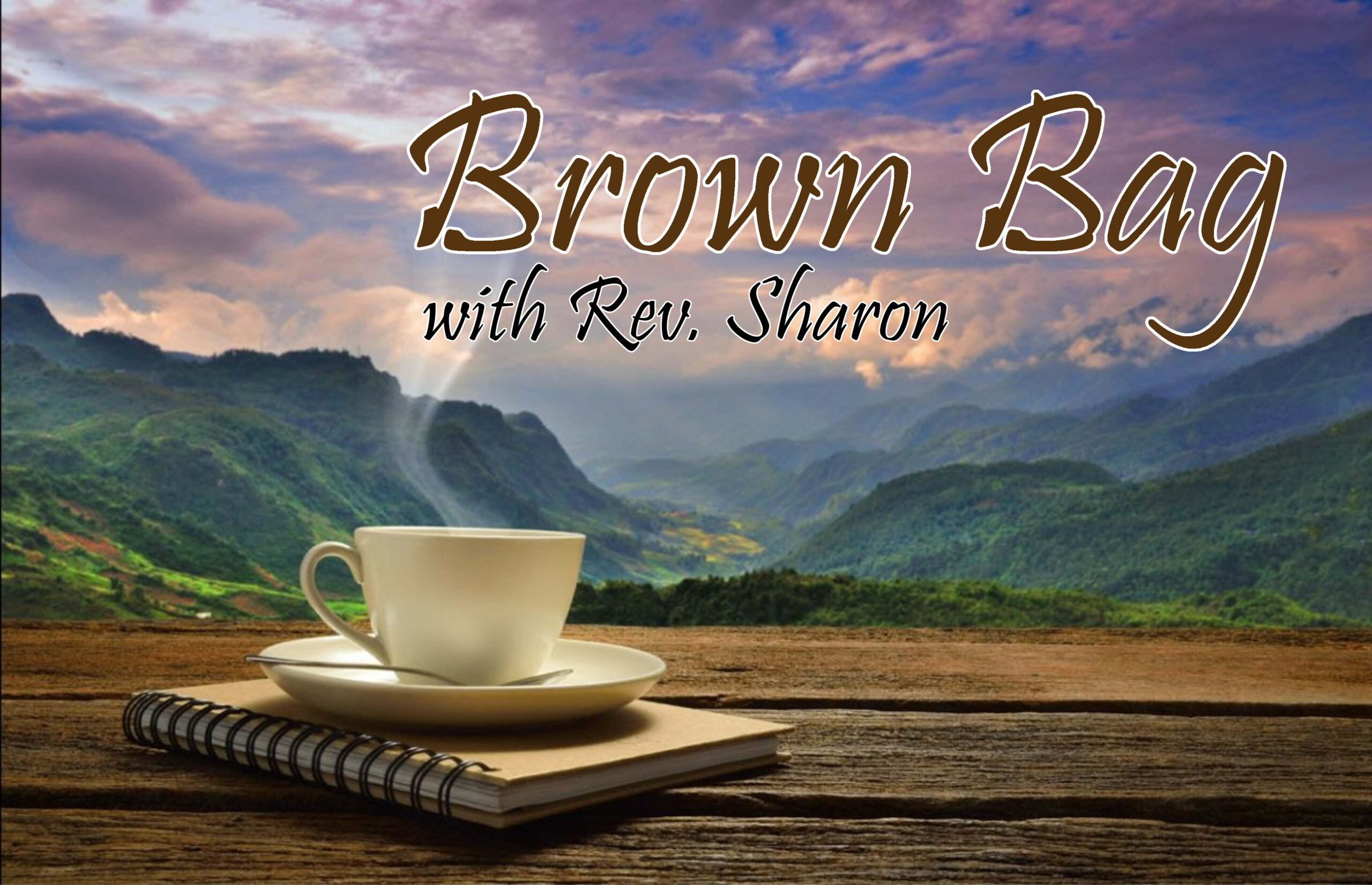 (Suspended) Brown Bag with Rev. Sharon