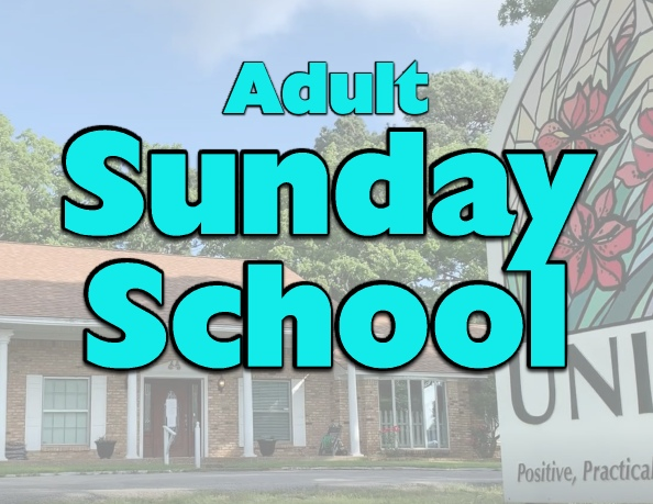 Adult Sunday School (In Person)
