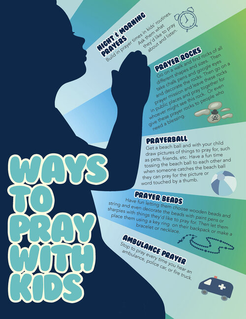 Five Ways to Pray with Kids