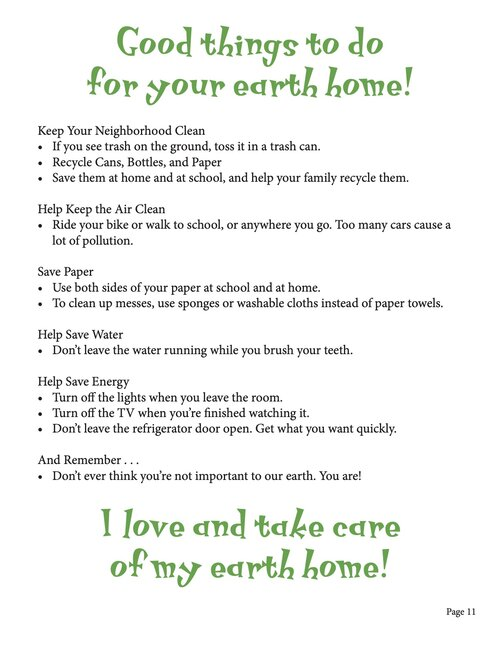 Good Things to Do for Your Earth Home!