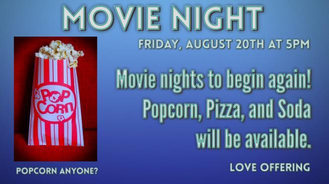 Movie Night (August 2021)